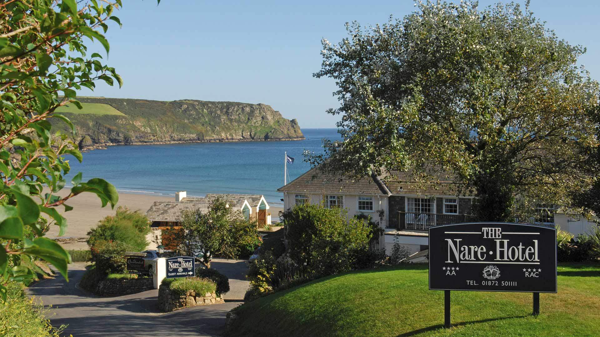 The Nare Hotel Cornwall Luxury Spa Hotels Cornwall