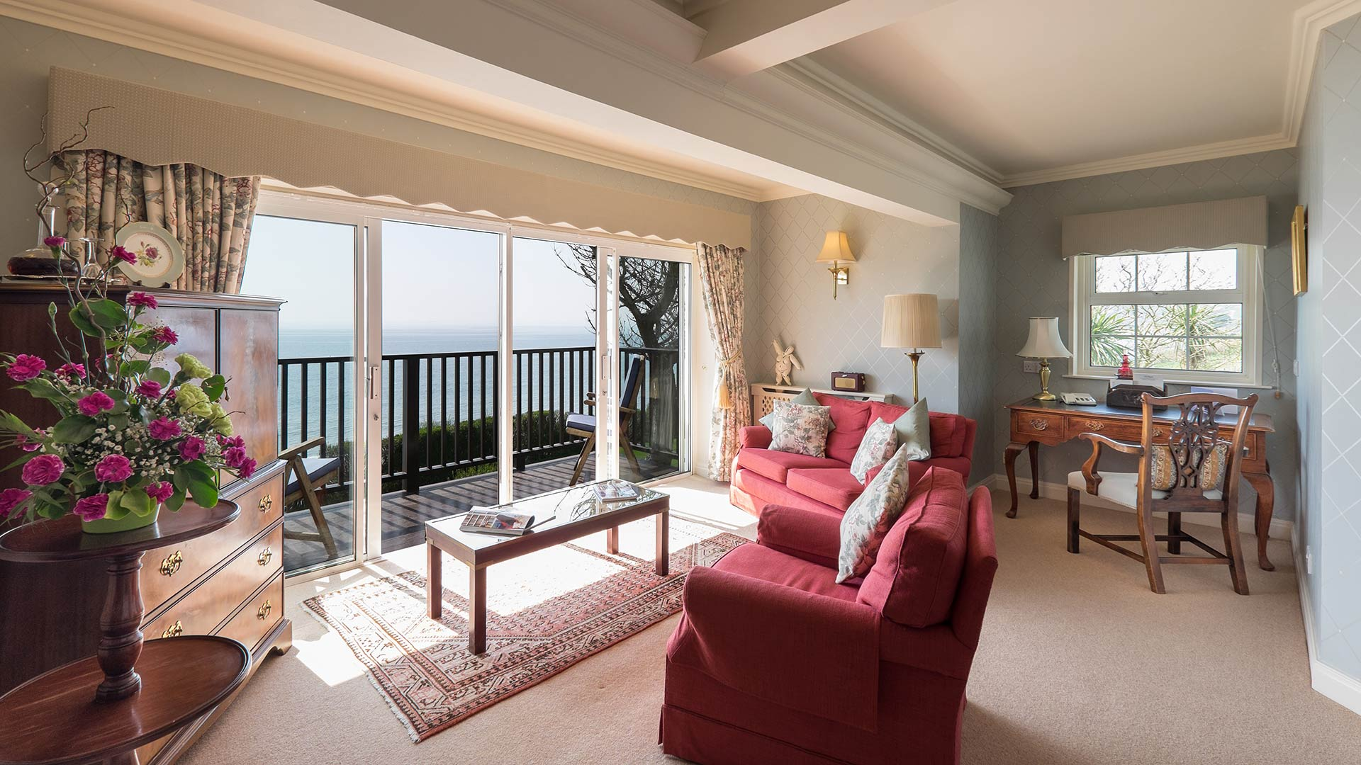 The Nare Hotel Cornwall Room