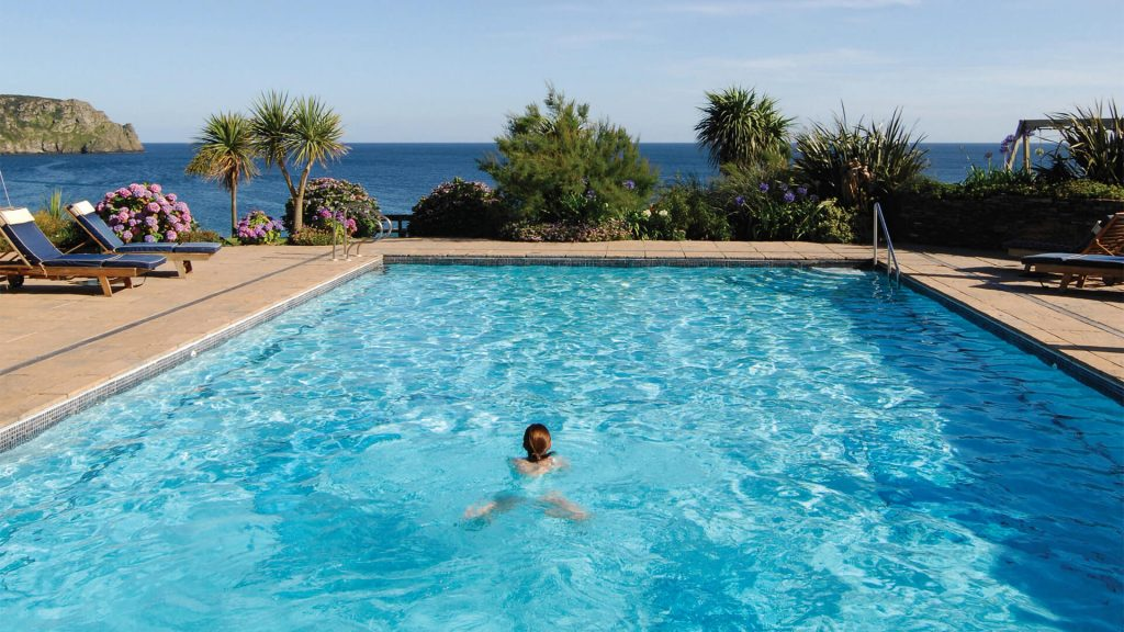 The nare hotel cornwall luxury spa hotels cornwall - Hotels with swimming pools cornwall ...