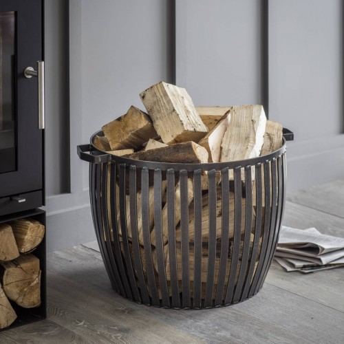 Notonthehighst log basket