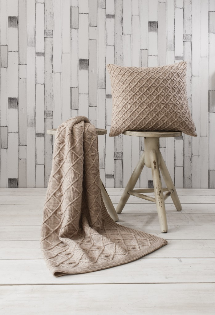 Wayfair cable throw