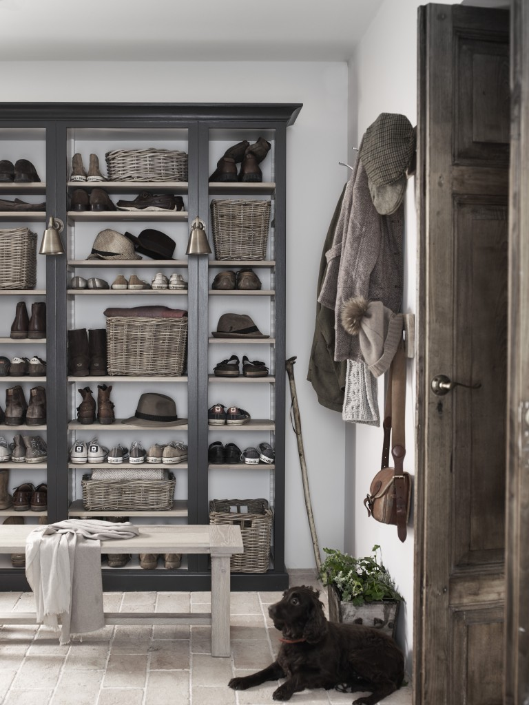 Neptune Pembroke Shelving from -ú840, Somerton Baskets from -ú51, Arundel Bench from -ú435