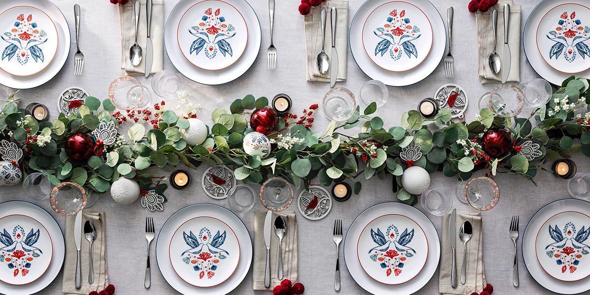 Deck the halls pride of britain hotels credit john lewis from sumptuous table linens to handmade garlands there are plenty of creative ways to pack a festive punch at home solutioingenieria Gallery